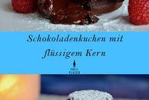 Valentinstags Überraschungen / Leckere Rezepte zum Valentinstag, Schokolade, Gebackenes und süße Leckereien