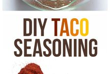 dry seasonings / by Charlotte Robbins
