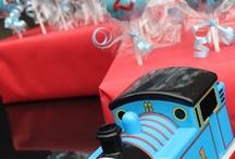 Thomas themed 2nd birthday