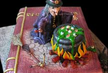 Top Witch Cakes / Whether they're spooky and sinister or kooky and colorful, we're all about bewitching treats during the Halloween... #featured-cakes #christmas-amp-holidays #halloween #halloweencake #witch #cakecentral