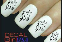 Nails horse