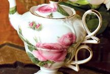 Teapots & Cups and saucers