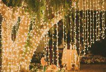 PARTY LIGHTS inside & outside / Parties, Proms, graduation ideas