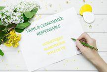 Vivre et consommer responsable