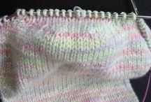 KNITTING Socks knitted-crocheted