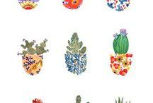 watercolores