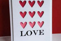 Love/Valentine/anniversary cards