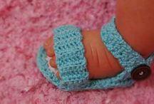 Crochet Baby schoes