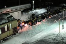 Heavy snow disaster / It is a situation of heavy snow disaster February 14, 2014.