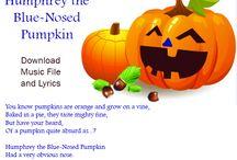Halloween Songs and Carols