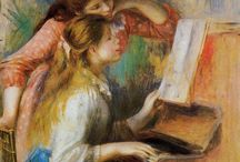 piano lessons paintings