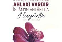 islam ahlakı ve dualar