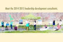 Leadership Development Consultants / A LDC is a recent college graduate who is able to contribute her Kappa Delta experience by visiting Kappa Delta chapters throughout the United States. Depending on the visit, a LDC may assist with chapter development, officer transition, recruitment assistance or recruitment planning.  A LDC may also help with extension presentations, colonizations and installations of new chapters.