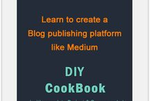 Blog Platform Script / Create a world class blogging platform like Medium.com on your own with this step by step tutorial that comes with full source code.  http://learnsauce.com/blog-platform-script/