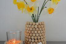 Houten kralen / Deze houten kralen van mmkado zijn te gebruiken voor eindeloos veel mogelijkheden.