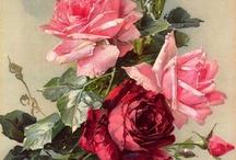 grafiki kwiaty