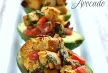 Side dishes - avocados / by Donna Bailey