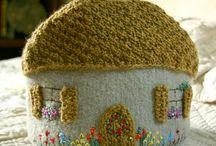 funy teapots / des cosy pour les théières