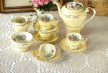 Vintage tea set / want to share my vintage tea cup & set with everyone  enjoy!