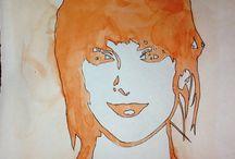 My Sketchbooks / Some of my practice work and sketchbook work
