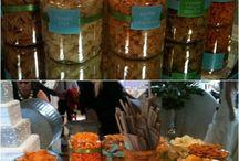 snacks table