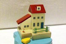Ярмарка мастеров - ключницы и миниатюры