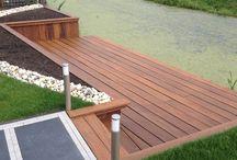 beschoeiing/terras aan water