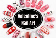 Valentine's nail