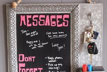 """Say It With Chalkboards!"" / Chalkboard art by Revived!"