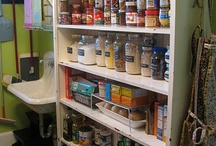 Organize / For every minute spent organizing an hour is earned. A place for everything, and everything in its place.
