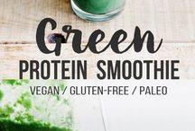 plant based breakfast/smoothies/.drinks