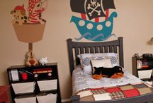 Finley's room ideas / Ideas for Finley's new pirate themed bedroom