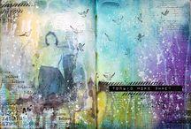 Art journal  / 페이퍼아트