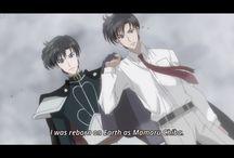 Prince Endymion and Mamoru Crystal