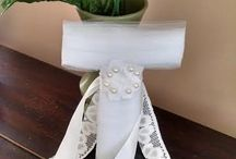 Our Wedding Decor Items / This board shows off our handmade wedding items. We can customize any item to your wedding theme. Bulk discounts given!!  We take custom orders with your own idea and can personalize any wreath. Visit us on facebook to learn more at www.facebook.com/handmade moms. Email us at handmademoms@gmail.com. Order from us at our Etsy shop: www.handmademoms.etsy.com. All of our items are handmade to order. We are also on Twitter as https://twitter.com/HandmadeMomsLLC