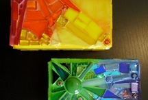 Glass mosaic grouting