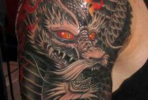Drago tattoo