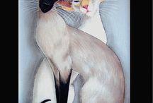 Itämaiset ja siamilaiset kissat