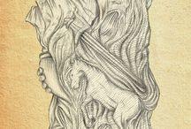 Slavic Mythology - my works / My art