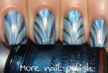 Water Marble/Marble Nails