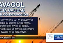 Construcción Avacol / Brindamos servicios de diseño, gerencia de proyectos, interventoría, ejecución de obras de infraestructura, arquitectura, topografía, e ingeniería civil, construcción a mediana y gran escala. 25 años de experiencia en proyectos industriales, comerciales y de vivienda