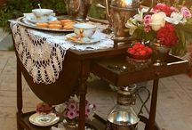 tea room, fundraiser