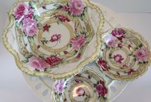 Antique Serving Dishes and Stemware / by Barb Sandegren