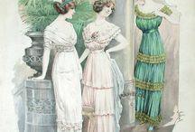 Fashion Plate : 1900s