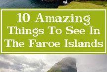 Faroer en IJsland