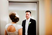 The emotional first look - Old Hollywood Glamour Wedding Photography