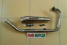 Bike Muffler >> Kawasaki Ninja 250