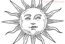 Графика солнца