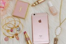 Pretty Pink Accessories / Diary / Books / Cosmetics / Jewelry / Interior Objects