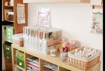 Craft Room Ideas / by Cathy Clark